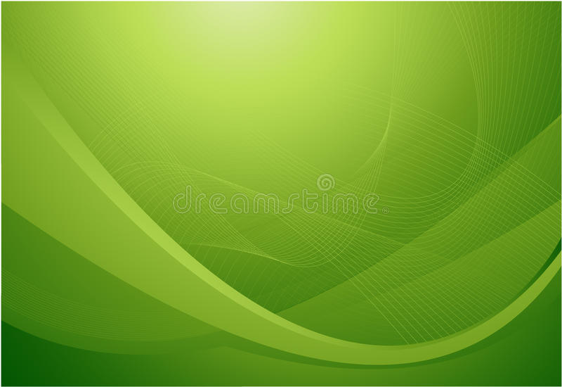falista tło abstrakcjonistyczna zieleń royalty ilustracja