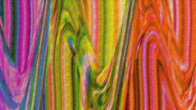 Falisty koloru pluśnięcie Ręka malujący abstrakt zabarwiający farby pluśnięcie Grunge malujący cyfrowy papier Multicolor farba mu zdjęcia stock