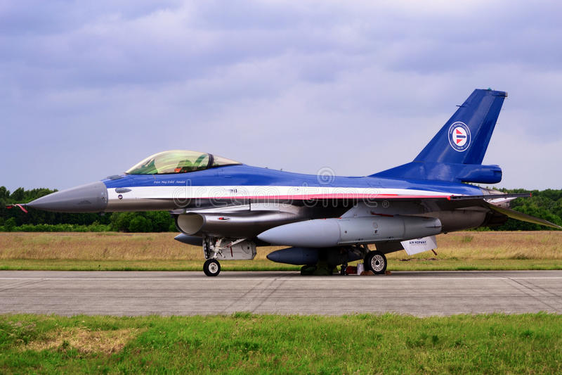 Falk F16 royaltyfri bild