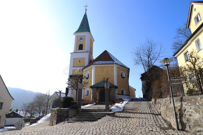 Falkenstein i övrepfalzgrevskapet royaltyfri foto