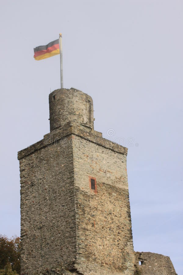 Falkenstein uppehälle royaltyfri bild
