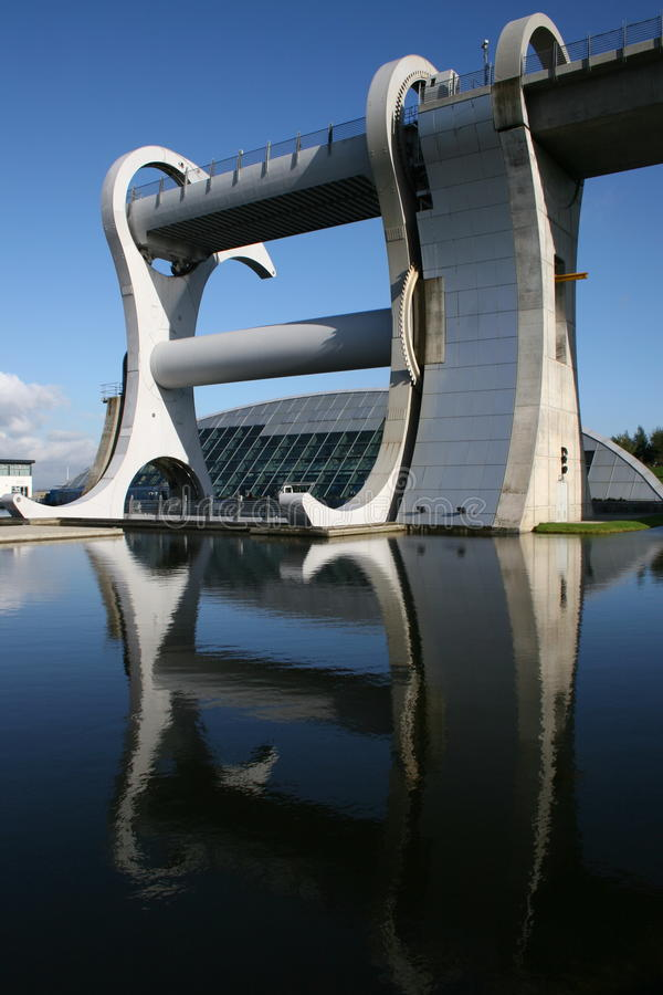 Falkirk, The Falkirk Wheel royalty free stock photos