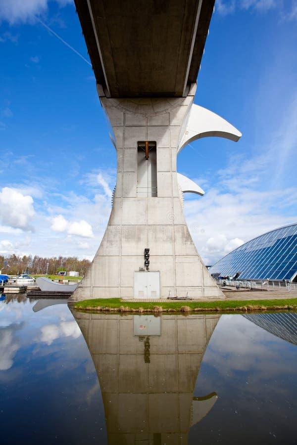 Falkirk hjul, Skottland UK fotografering för bildbyråer