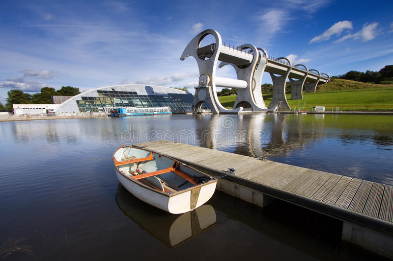 The Falkirk Wheel royalty free stock photos