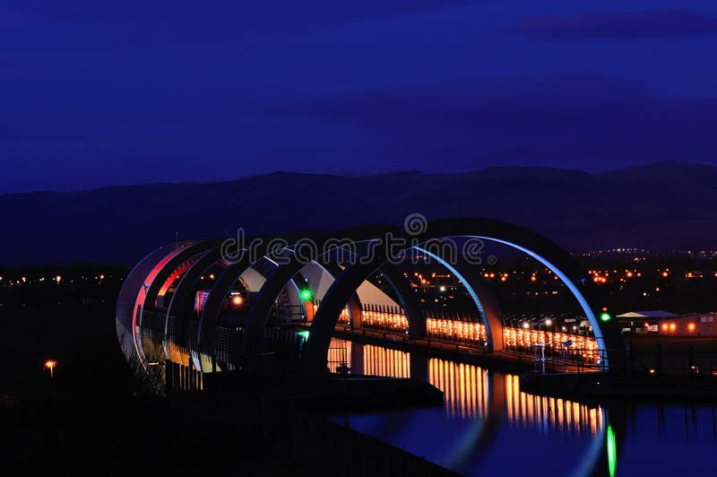 Falkirk Wheel royalty free stock image
