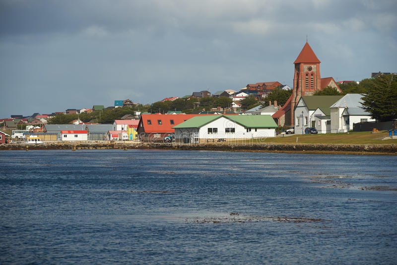 Falkland Islands Capital arkivbilder