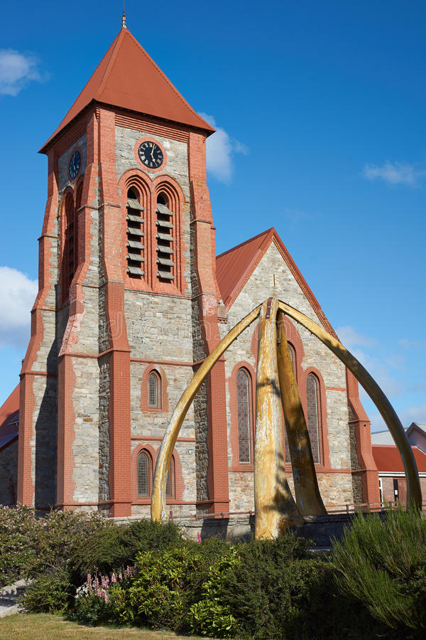 Falkland Islands Cathedral images stock