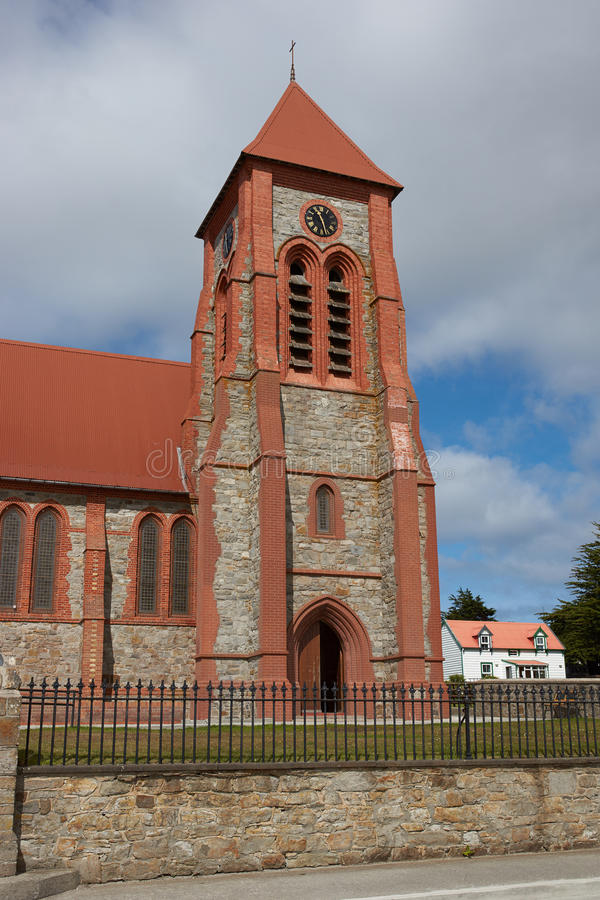 Falkland Islands Cathedral image libre de droits