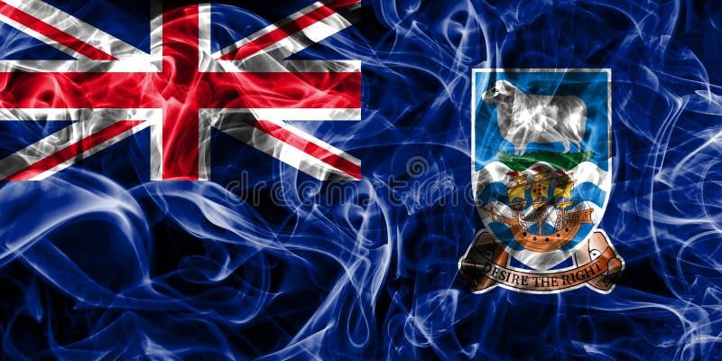 Falkland Islands rökflagga, brittiska utländska territorier, Brita vektor illustrationer