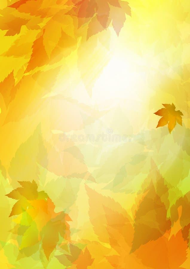 fall royaltyfri illustrationer