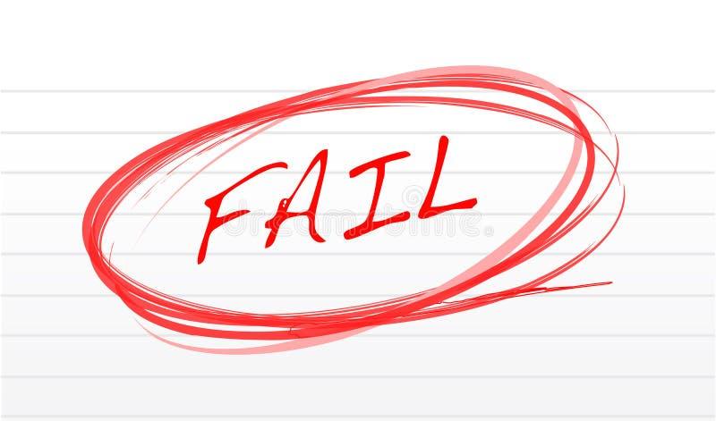 Fall stock de ilustración