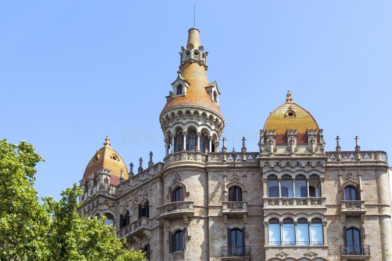 Fall Antoni Rocamora - Barcelona Spanien royaltyfri foto