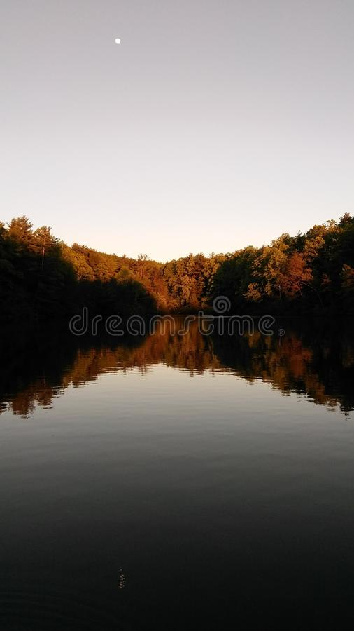 Fall in around the corner royalty free stock photos