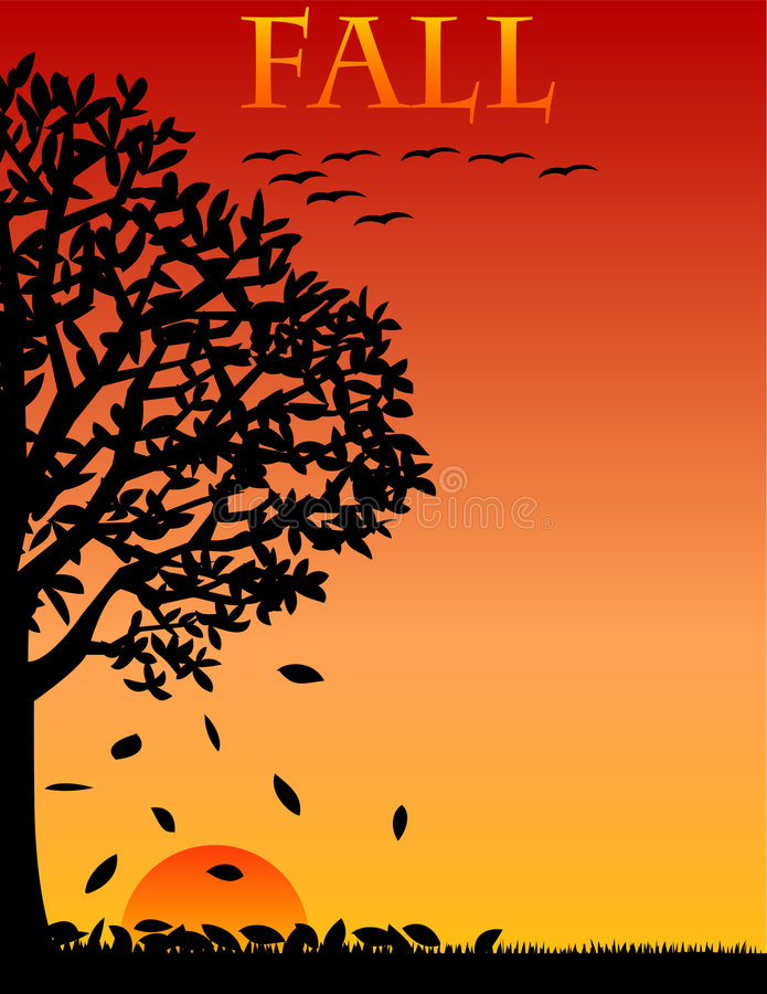 Free Fall/Autumn Background/eps Stock Photos - 4800103