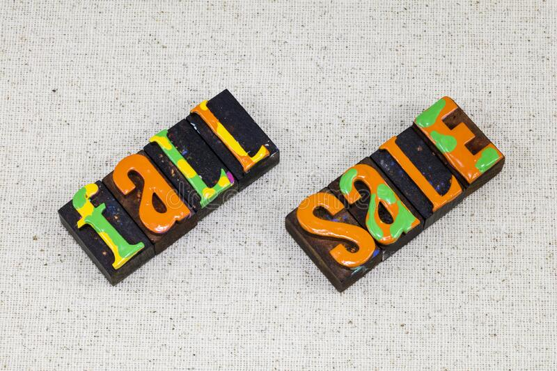 Fall autumn sale consumer line summer closeout product. Fall autumn sale is consumer line summer closeout product and spring clearance items.  Thanksgiving stock images
