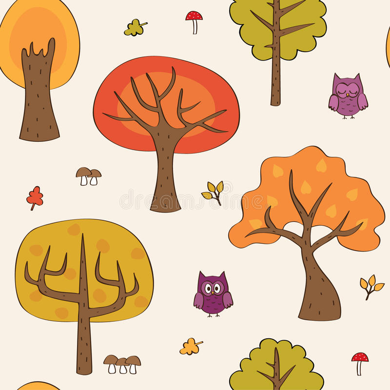 Download Fall background stock vector. Illustration of decoration - 26076600