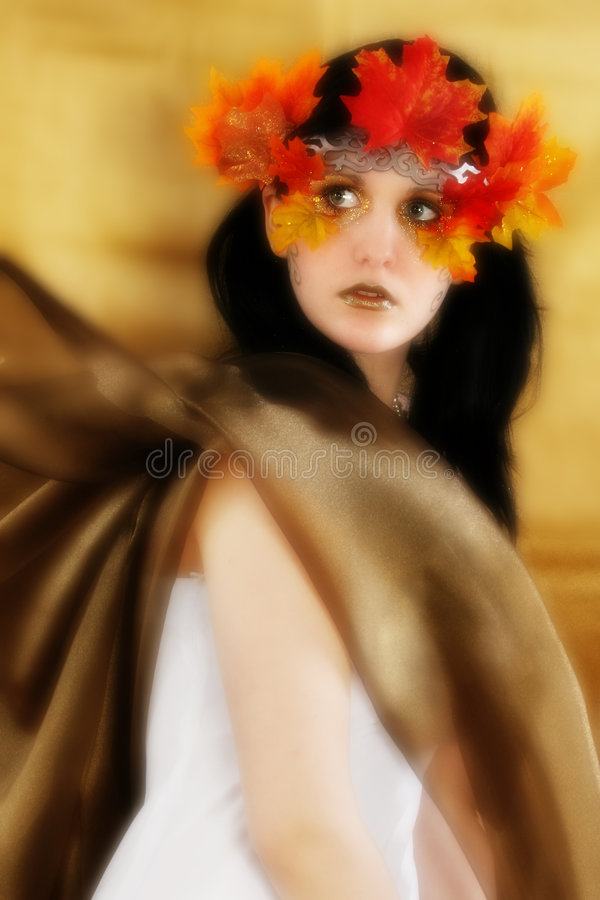 Download Fall Beauty stock image. Image of glamorous, pretty, girl - 1677825