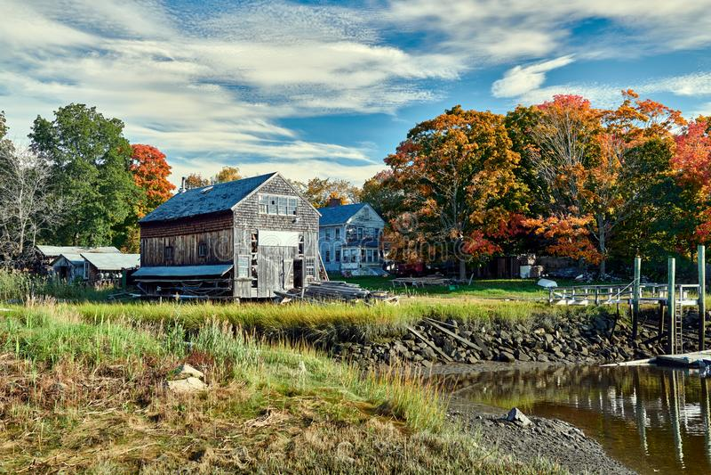 Fall bei Essex, Massachusetts, USA stockfoto