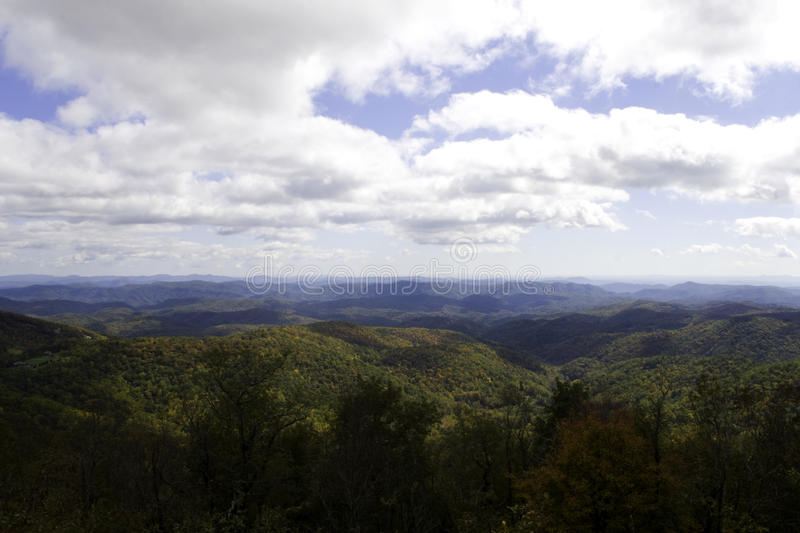 Fall Blue Ridge Parkway royalty free stock images