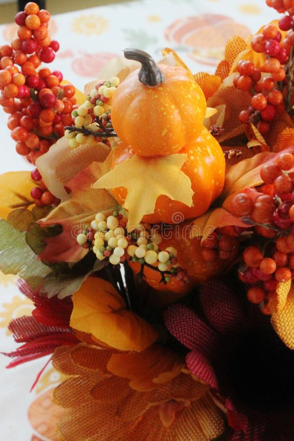 Fall Centerpiece stock photos