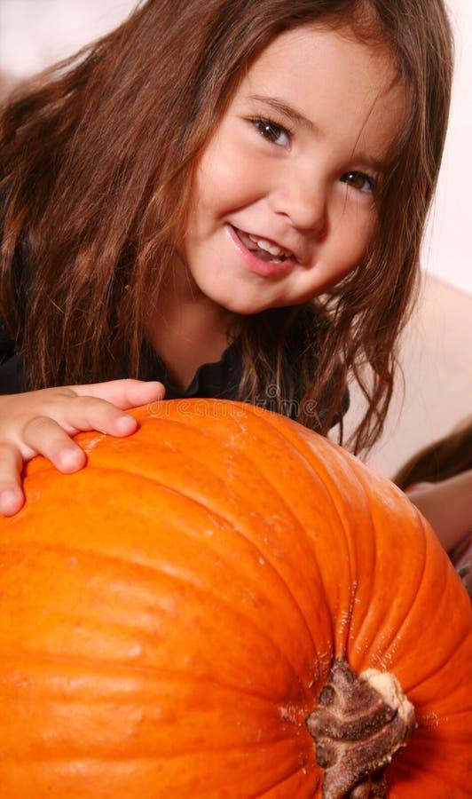 Fall Child stock image