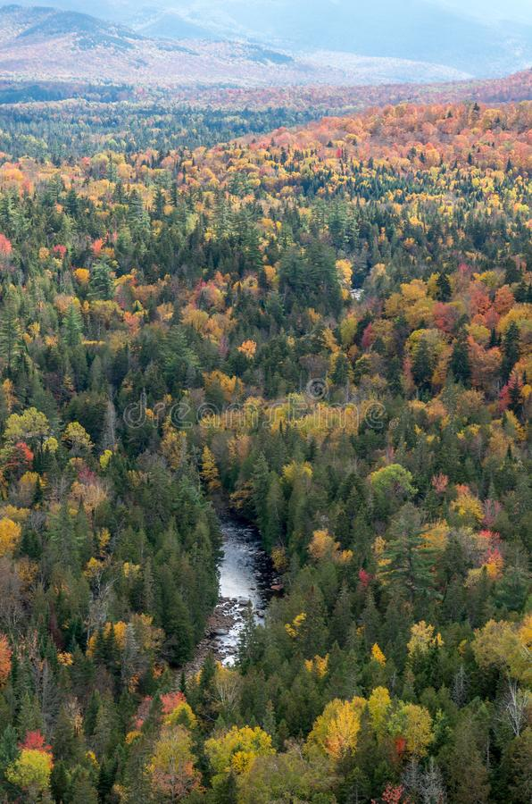 Fall color in Lake Placid NY. Fall color in the Adirondack Mountains around Lake Placid NY royalty free stock photo