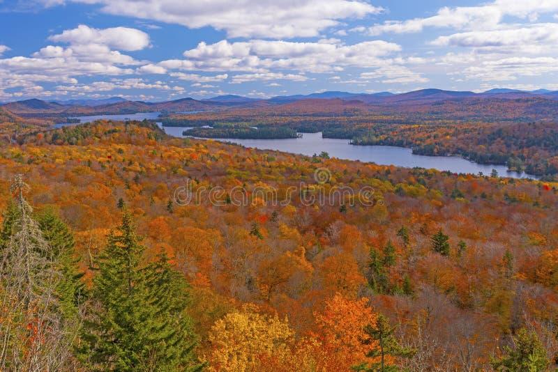 Fall Colors in the Adirondacks stock photos