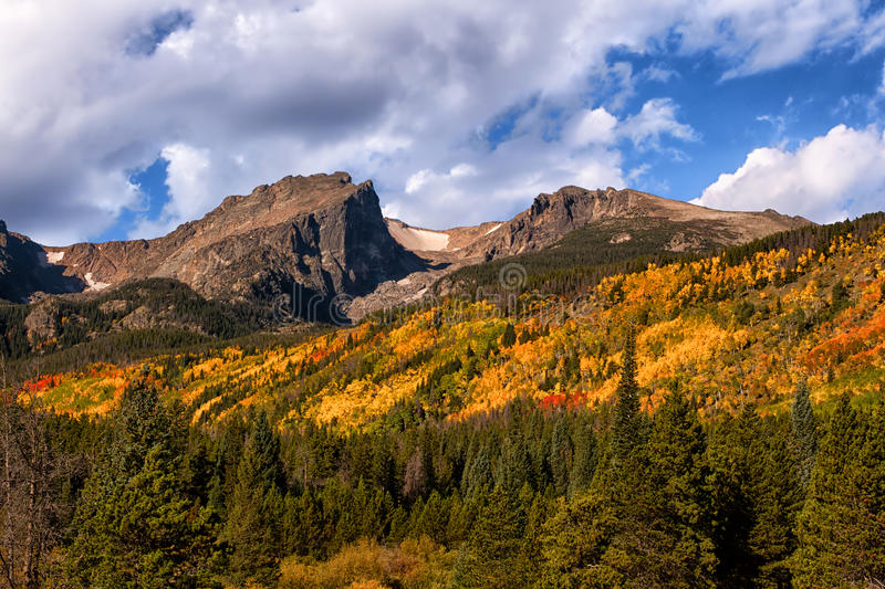 Fall Colors at Rocky Mountain National Park, Colorado royalty free stock photos