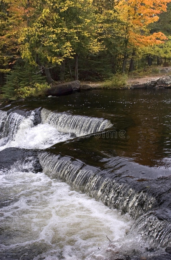 Fall Colors, Waterfall, Scenic Landscape royalty free stock photography