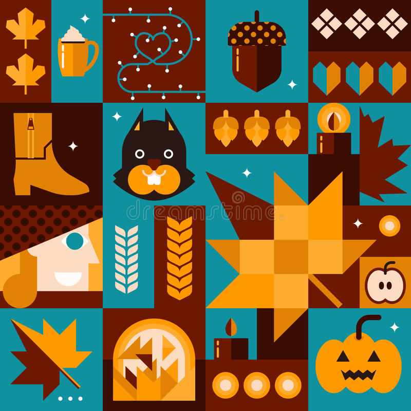 Fall Concept stock illustration