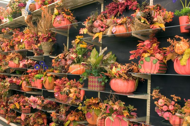 Fall Decorations 3 Free Stock Photography