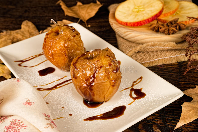 Fall dessert stock photo