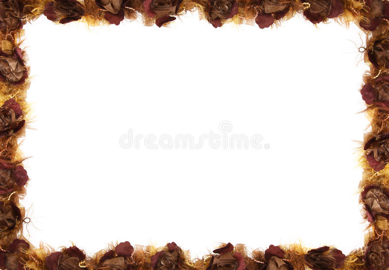 Download Fall Floral Border stock photo. Image of floral, arraingement - 16326402