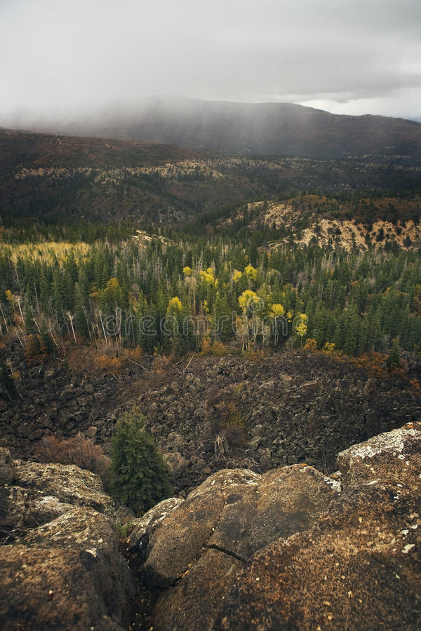 Download Fall Foliage & Approaching Storm Stock Photography - Image: 21224082