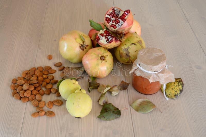 Fall fruits stock photos