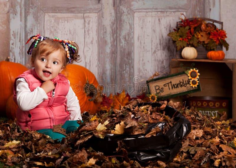 Fall fun. stock photography