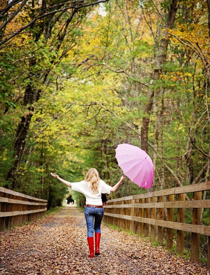 Download Fall Fun Girl Stock Images - Image: 26689594