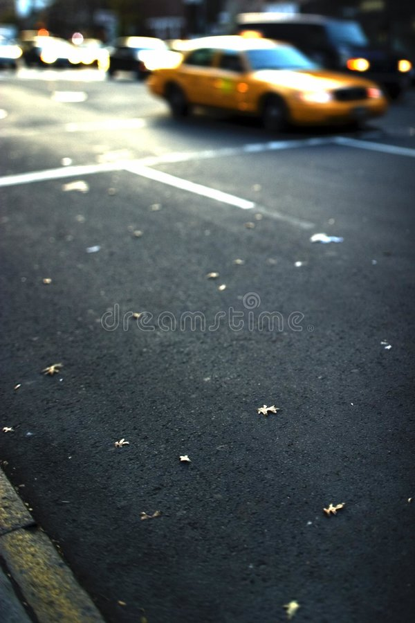 Fall in Greenwich Village stock images