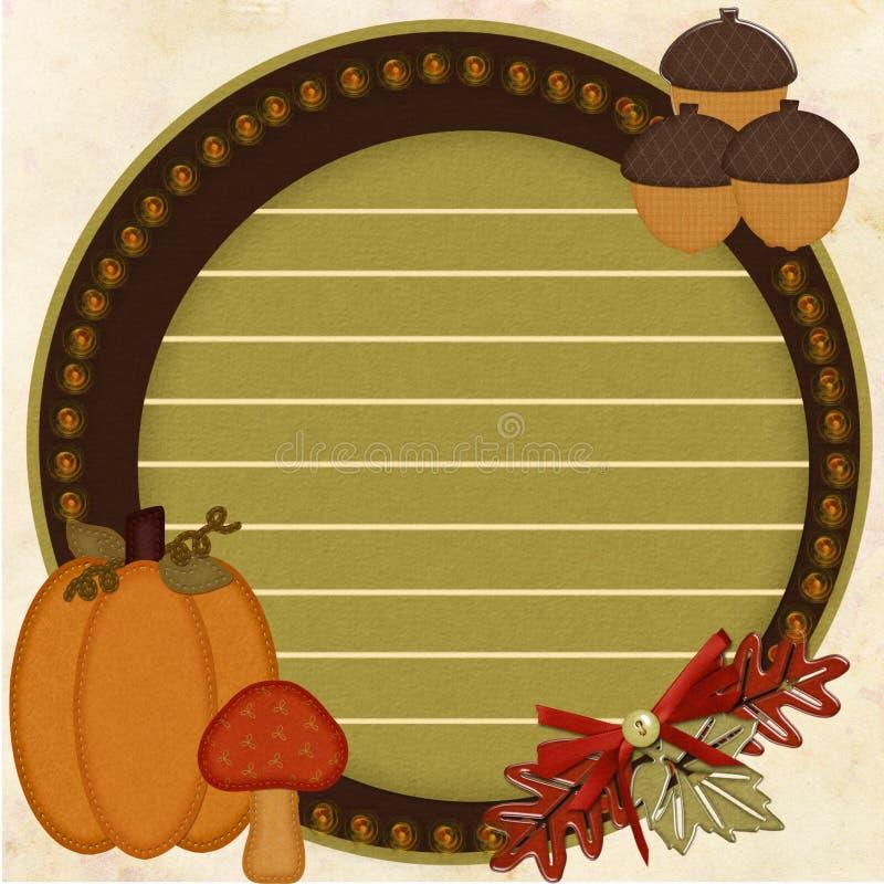 Fall Harvest Blog royalty free stock photos