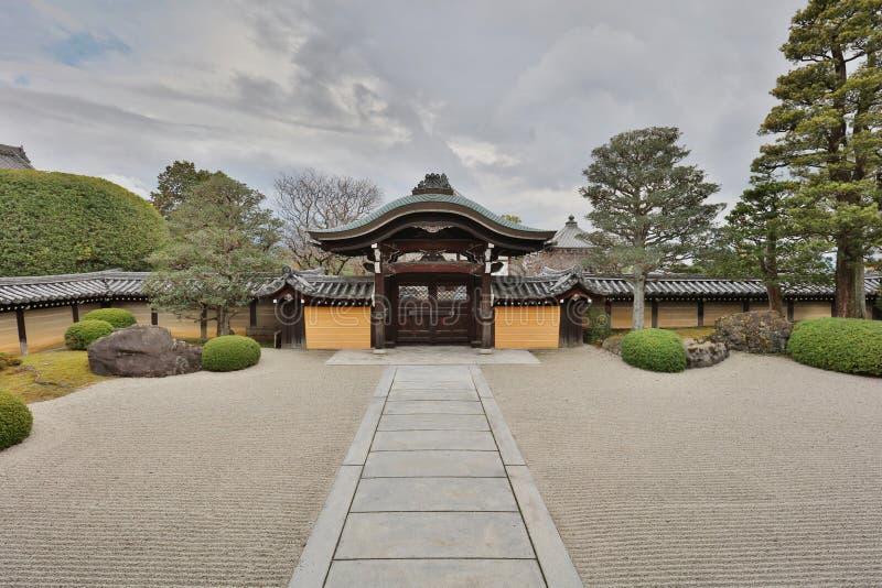 An Autam in Konkai Komyoji Temple kyoto. Fall in Konkai Komyoji Temple position Residents royalty free stock image