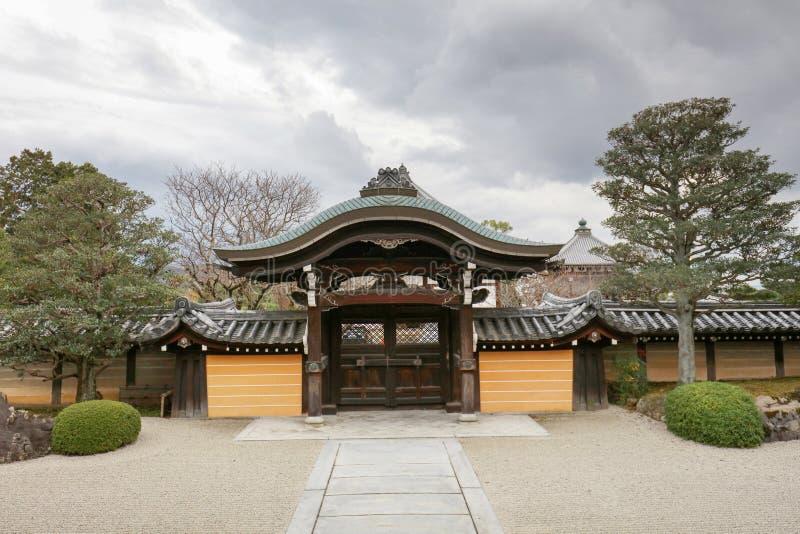 An Autam in Konkai Komyoji Temple kyoto. Fall in Konkai Komyoji Temple position Residents royalty free stock images