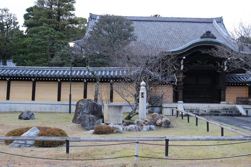 The Autam in Konkai Komyoji Temple kyoto. Fall in Konkai Komyoji Temple position Residents royalty free stock images