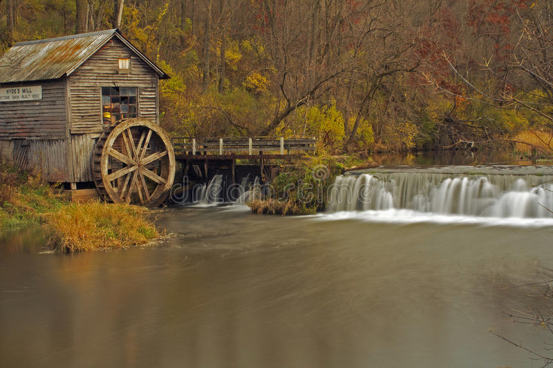 Fall ld mill royalty free stock photography