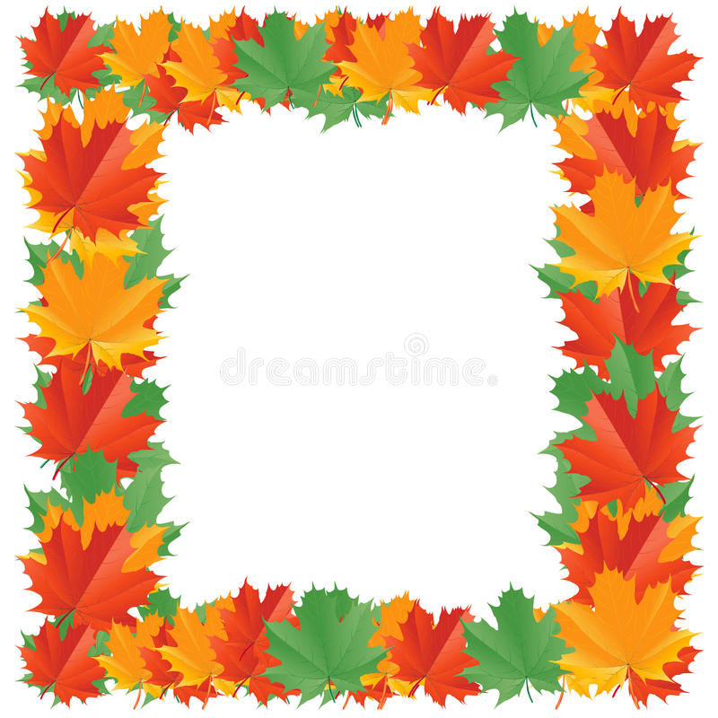 fall leaf border stock vector illustration of frame 16926954 rh dreamstime com Happy Stick Figure Clip Art Happy Stick Figure Clip Art