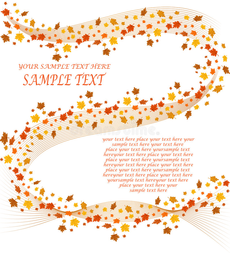 Free Fall Leaves Background Stock Photos - 6493113
