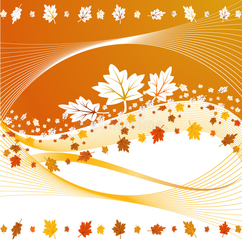 Free Fall Leaves Background Royalty Free Stock Photos - 6504178