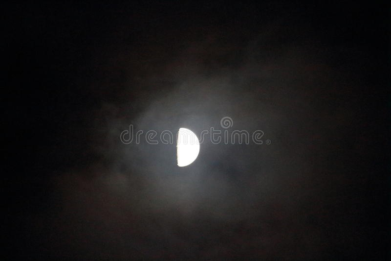 Fall moon stock images