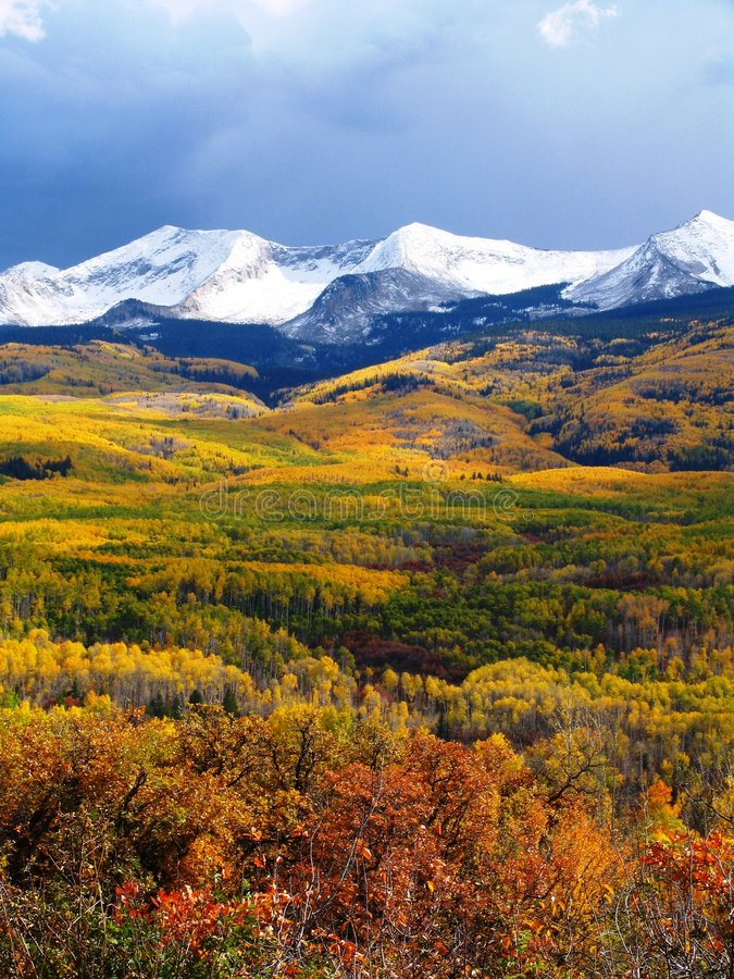 Fall Mountains stock images