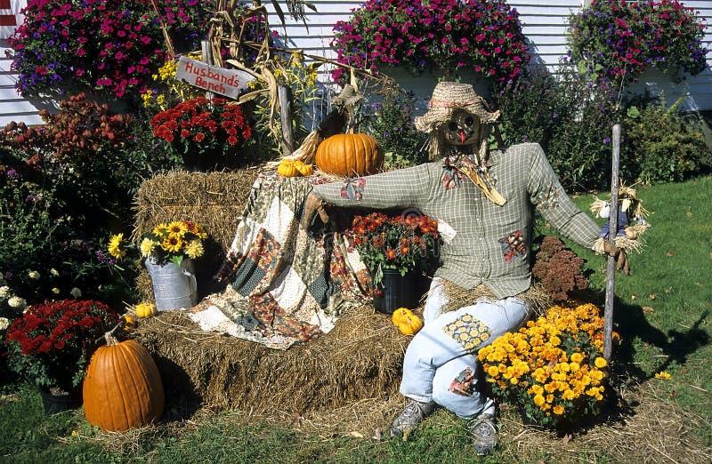 Fall in Neu-England stockfoto