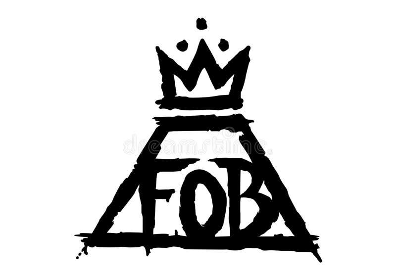 Fall Out Boy Logo vector illustration